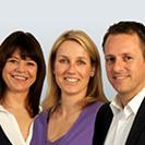 Andrea Mersch, Tanja Latsch, Matthias Wurm (v.l.n.r)